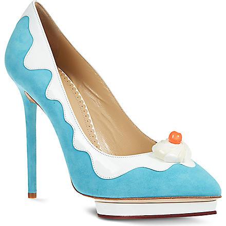 CHARLOTTE OLYMPIA Debonaire Sundae heels (Blue
