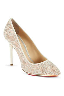 CHARLOTTE OLYMPIA Monroe courts