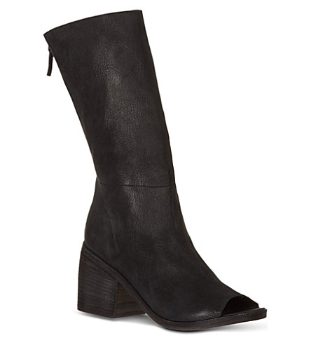 MARSELL Zuccola leather boot (Black