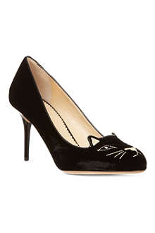 CHARLOTTE OLYMPIA Kitty 85 court shoes