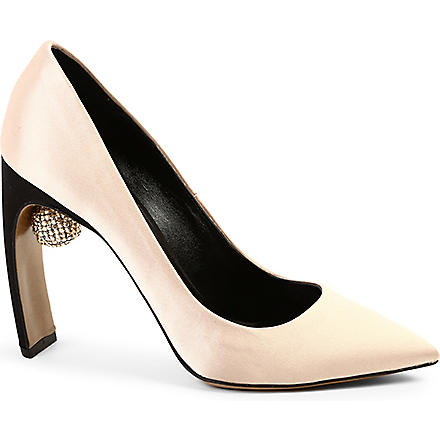 NICHOLAS KIRKWOOD Crystal ball pumps (Pink