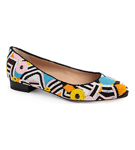 CHARLOTTE OLYMPIA Pick 'n' Mix Jackie beaded pumps