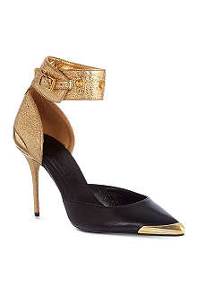 ALEXANDER MCQUEEN Point toe court shoes