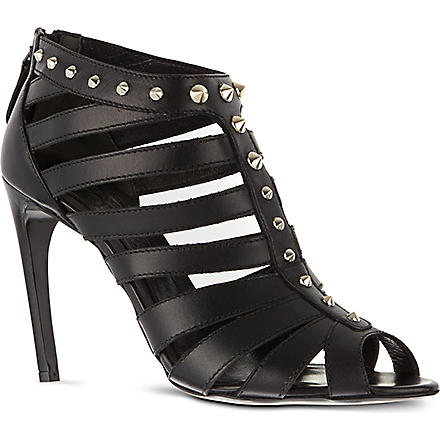 ALEXANDER MCQUEEN Studded sandals (Black