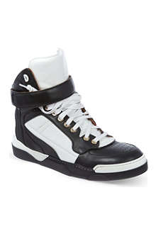 GIVENCHY Bran leather high tops