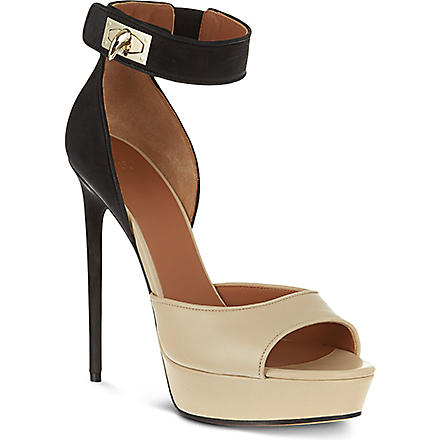 GIVENCHY Eddard leather sandals (Brown/oth