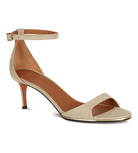 GIVENCHY Tywin suede sandals (Taupe