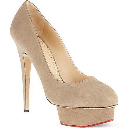 CHARLOTTE OLYMPIA Seaside dolly courts (Grey
