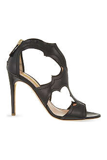 RUPERT SANDERSON Estelle leather sandals