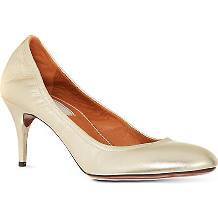 LANVIN Metallic pumps (Gold