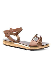 LANVIN Flat Wedge sandals