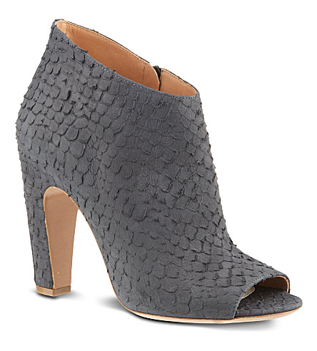 MAISON MARTIN MARGIELA Open toe ankle boots (Black