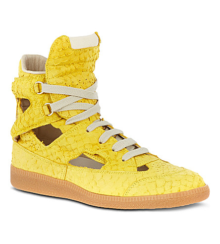 MAISON MARTIN MARGIELA Rock trainers (Yellow