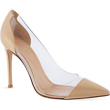GIANVITO ROSSI Calabria court shoes (White/comb