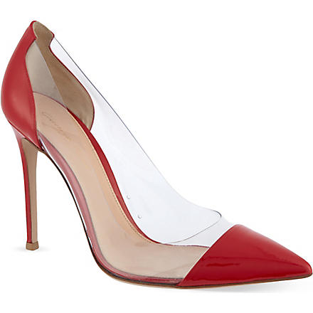 GIANVITO ROSSI Calabria court shoes (Red