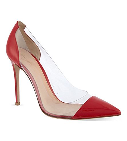 KG BY KURT GEIGER Calabria court shoes (Red