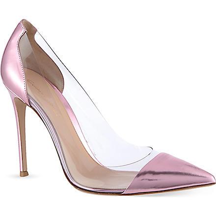 GIANVITO ROSSI Calabria court shoes (Fushia