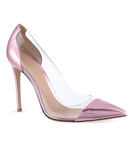 GIANVITO ROSSI Calabria court shoes (Fushia