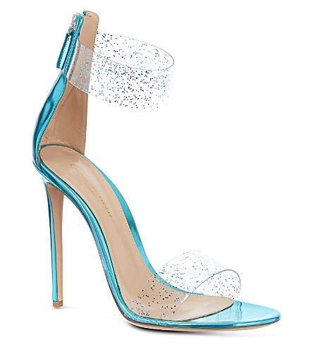 GIANVITO ROSSI Molise sandals (Turquoise