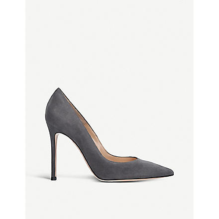GIANVITO ROSSI Bari court shoes (Grey