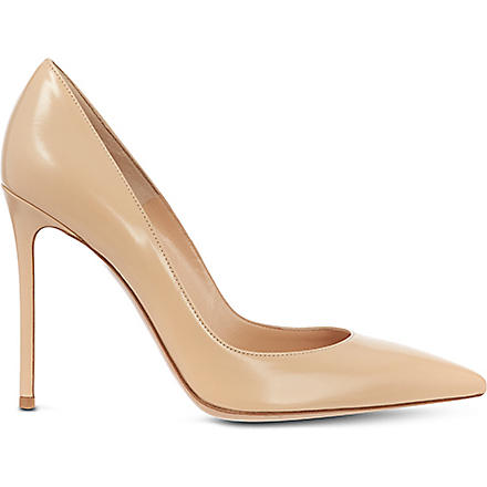GIANVITO ROSSI Bari court shoes (Nude