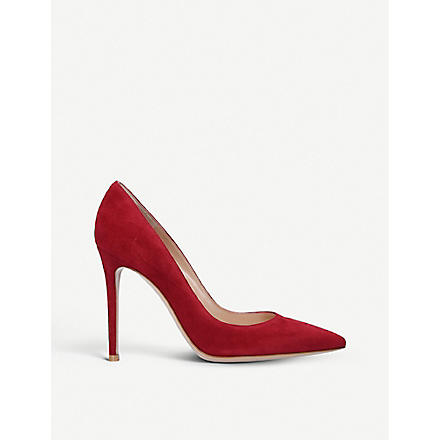 GIANVITO ROSSI Bari court shoes (Red