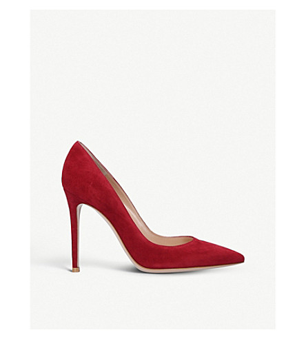GIANVITO ROSSI Bari court shoes (Red