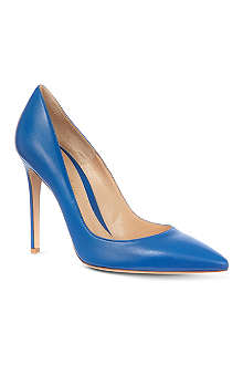 GIANVITO ROSSI Bari leather court shoes