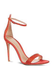 GIANVITO ROSSI Modena leather sandals