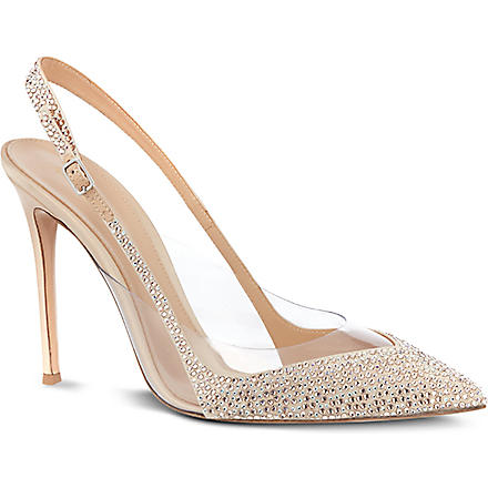 GIANVITO ROSSI Perugia court shoes (Nude