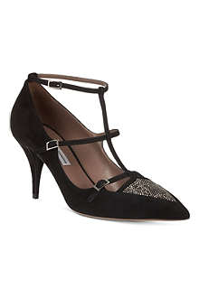 TABITHA SIMMONS Hai suede court shoes
