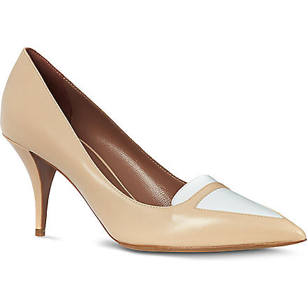TABITHA SIMMONS Hayden leather court shoes (Nude