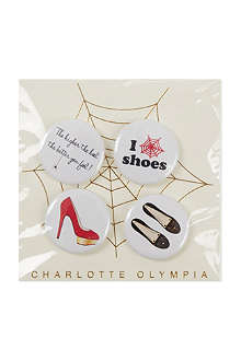 CHARLOTTE OLYMPIA Shoe badges