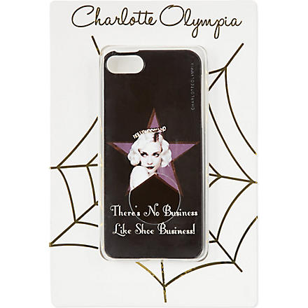 CHARLOTTE OLYMPIA 'There's no business like shoe business' iPhone cover (Mult/other