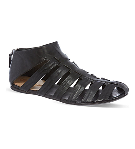 MARSELL Katniss leather sandals (Black