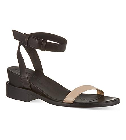 A F VANDEVORST Lyra sandals (Blk/beige