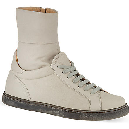 A F VANDEVORST Comae high top trainers (Beige