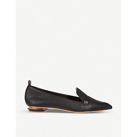 NICHOLAS KIRKWOOD Pointy slippers (Black