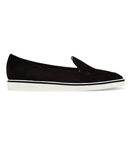 NICHOLAS KIRKWOOD Pointy toe flats (Blk/white