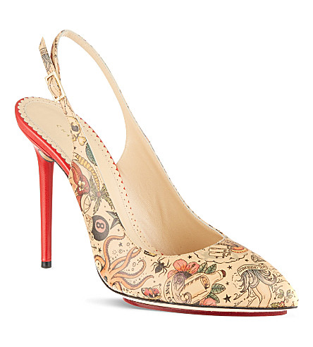 CHARLOTTE OLYMPIA Monroe inked courts