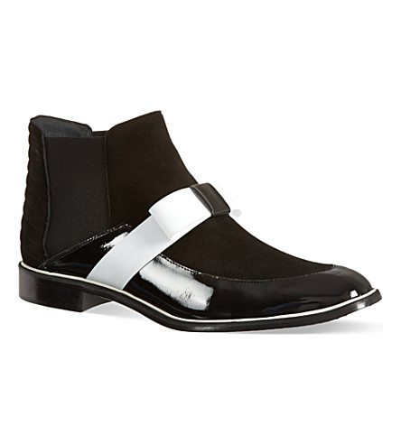 NICHOLAS KIRKWOOD Roksanda boots (Blk/white