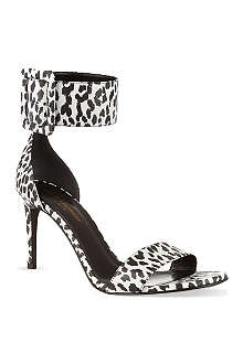 SAINT LAURENT Jane print sandals