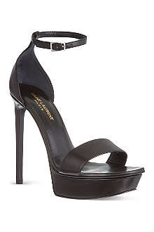 SAINT LAURENT Bianca platform sandals