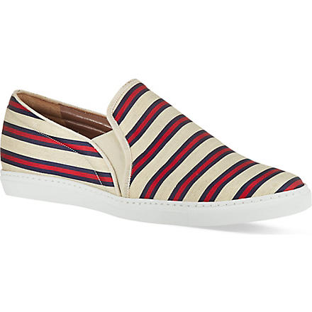 TABITHA SIMMONS Huntington striped pumps (Red/other