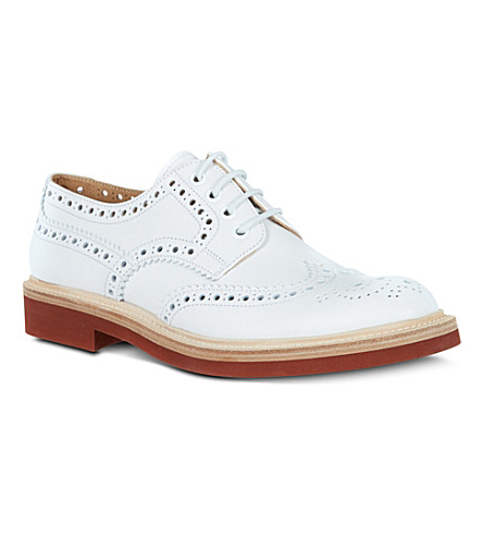 CHURCH Hattie leather brogues (White