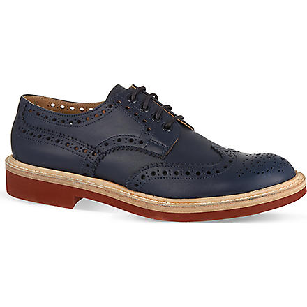 CHURCH Hattie brogues (Blue