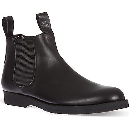 COMME DES GARCONS Sian chelsea boots (Black