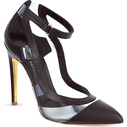 RUPERT SANDERSON Tatua court shoes (Black