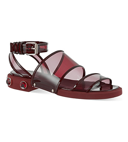 GIVENCHY Adele sandals (Wine