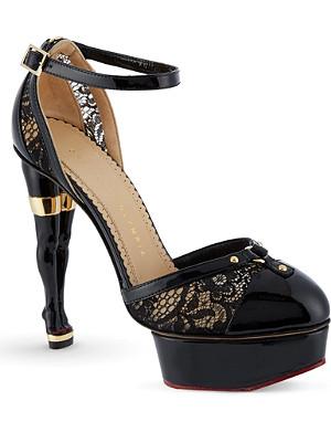 CHARLOTTE OLYMPIA Cheeky platform heels